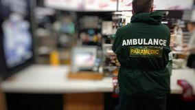 Ambulance Paramedic royalty free stock photos