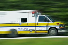 Ambulance Paramedics Stock Photos