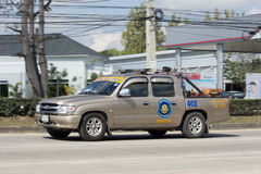Ambulance Pickup for Volunteer of Chiangmai Hightway Police Royalty Free Stock Images
