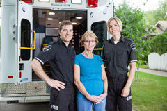 Ambulance Professionals Stock Images