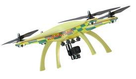 Ambulance quadrocopter closeup Stock Image