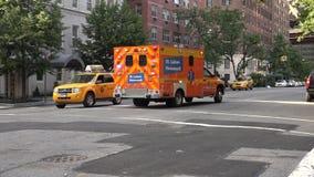 Ambulance, réponse de secours, EMT banque de vidéos