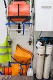 Ambulance's stuff Royalty Free Stock Photo