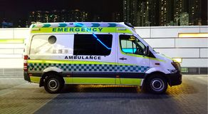 Ambulance Side View royalty free stock images