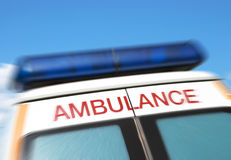 Ambulance Sign Royalty Free Stock Photos