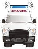 Ambulance and sirens Royalty Free Stock Photos