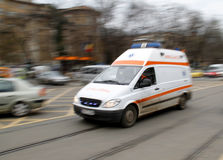 Ambulance speed royalty free stock photos