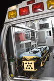Ambulance With Stretcher Royalty Free Stock Photo