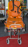 Ambulance and stretcher Stock Image