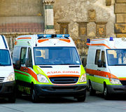 Ambulance team Royalty Free Stock Images