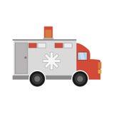 Ambulance transport emergency icon. Illustration eps 10 Royalty Free Stock Images