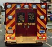 Ambulance Transports a Patient Stock Photography