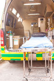 Ambulance use for emergency patient Stock Photos