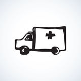 Ambulance. Vector drawing Stock Image