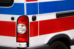 Ambulance Vehicle Stock Photo