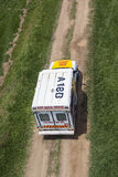 Ambulance Vehicle Below Royalty Free Stock Image