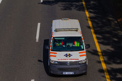 Ambulance Vehicle Medics Royalty Free Stock Photo