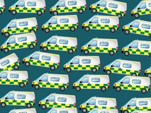 Ambulance Wallpaper Stock Photos