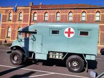 Ambulance. War Ambulance Australian Stock Photography