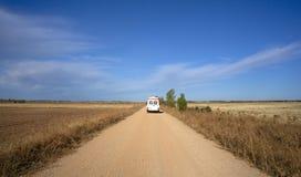Ambulance on the way Stock Photography