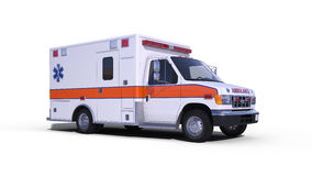 Ambulance white Royalty Free Stock Photography