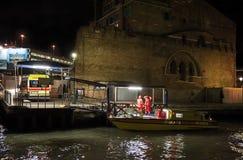 Ambulances à Venise Images stock