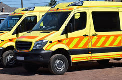 Ambulances Stock Image