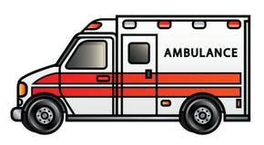 Ambulancia ilustración del vector