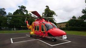 Ambulancia aérea fotos de archivo libres de regalías