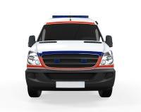 Ambulancia aislada Imagenes de archivo