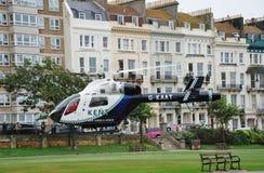 Ambulancia de aire de Kent Imágenes de archivo libres de regalías