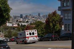 Ambulancia de San Francisco 1 Fotografía de archivo libre de regalías