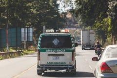 Ambulancia guatemalteca Imagen de archivo