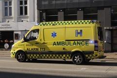Ambulancia médica Foto de archivo libre de regalías