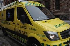 Ambulancia médica Fotografía de archivo libre de regalías