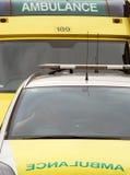 Ambulancias imagenes de archivo