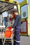 Ambulancier photo libre de droits