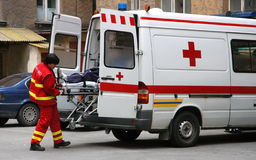 ambulans Royaltyfri Bild