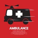 Ambulans stock illustrationer