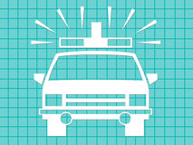 ambulans nagły wypadek Fotografia Stock