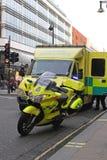 Ambulans NHS Arkivbild