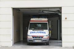 ambulans samochód German europy Monachium Zdjęcie Stock