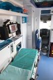 ambulans wnętrze Zdjęcia Stock