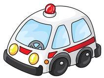 ambulansbil vektor illustrationer
