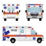 ambulansbil Royaltyfri Fotografi