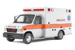 Ambulansbil Arkivbild