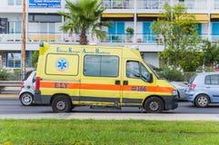 ambulansbileuropa germany munich Arkivbild