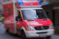 ambulansbrand Fotografering för Bildbyråer