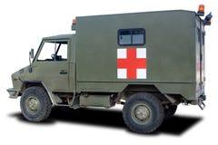 ambulansmilitär Royaltyfri Foto