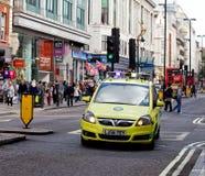 ambulansnödlägeoxford gata Royaltyfri Bild